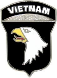 U.S. Army 101st Airborne Division Vietnam Hat or Lapel Pin