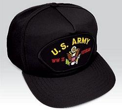 US Army World War II Vet Ball Cap