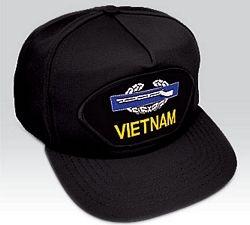 US Army Vietnam Combat Infantryman (CIB) Ball Cap