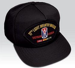 US Army Vietnam 11th Light Infantry Brigade Veteran Ball Cap