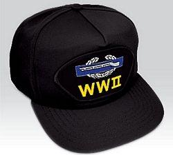 US Army Combat Veteran World War II Vet Ball Cap