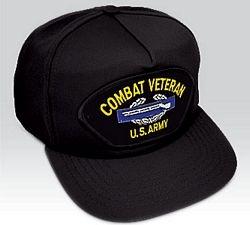 US Army Combat Veteran Ball Cap