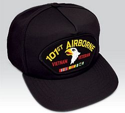 US Army 101st Airborne Division Vietnam Veteran Ball Cap