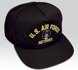US Air Force Retired Ball Cap