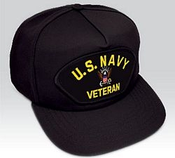 US Navy Veteran Ball Cap