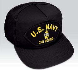 US Navy E-7 Chief Petty Officer (CPO) Retired Ball Cap