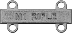 US Army M-1 Qualification Badge
