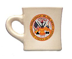 U. S. Army Ceramic 8 1/2 oz. Coffee Mug