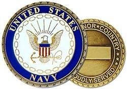 U.S. Navy Challenge Coin