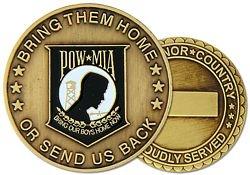 POW / MIA Challenge Coin