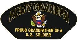 U.S. Army Grandpa Patch (Large)