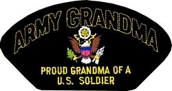 U.S. Army Grandma Patch (Large)