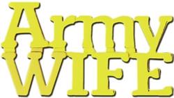 "U.S. Army ""My U.S. Army Wife"" Hat or Lapel Pin"