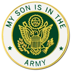 "U.S. Army ""My U.S. Army Son"" Hat or Lapel Pin"