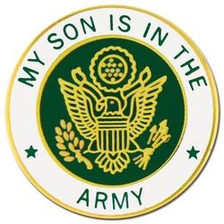 "U.S. Army ""My U.S. Army Son"" Hat or Lapel Pin"