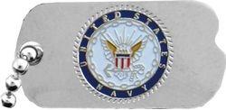 U.S. Navy Dog Tag Hat or Lapel Pin