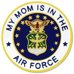 "U.S. Air Force ""My Air Force Mom"" Hat or Lapel Pin"
