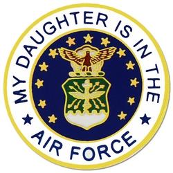 """U.S. Air Force """"My Air Force Daughter"""" Hat or Lapel Pin"""
