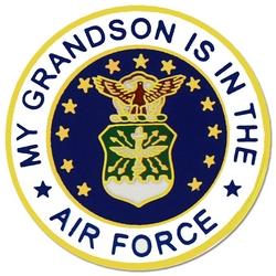 "U.S. Air Force ""My Air Force Grandson"" Hat or Lapel Pin"