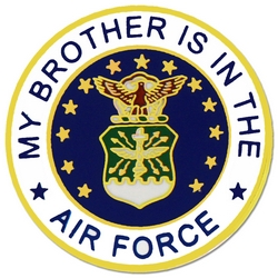 "U.S. Air Force ""My Air Force Brother"" Hat or Lapel Pin"