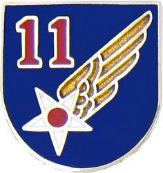 U.S. Air Force 11th Air Force Hat or Lapel Pin
