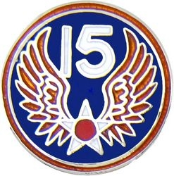 U.S. Air Force 15th Air Force Hat or Lapel Pin