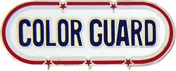 Color Guard Hat or Lapel Pin