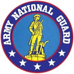 "U.S. Army National Guard Back Patch (10"")"