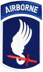 "173rd Airborne Division Back Patch (7.25"" x 5.75"")"