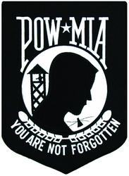"""POW / MIA Back Patch (7.5"""")"""