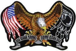 "All Gave Some, Some Gave All Back Patch (11"")"