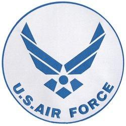 "U.S. Air Force Logo Back Patch (10"")"