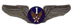 "U.S. Air Force 1st Air Corps Wings (2 7/8"")"
