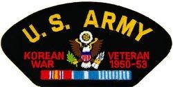 U.S. Army Korea Veteran Patch (Large)