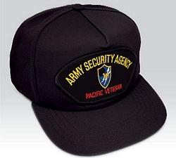 US Army Pacific Security Agency Veteran Ball Cap